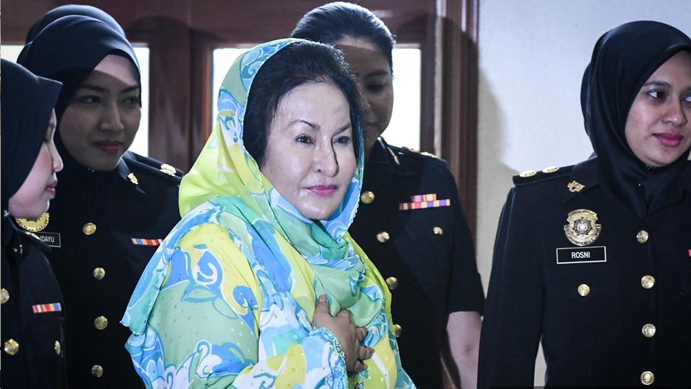 Rosmah ditangkap SPRM