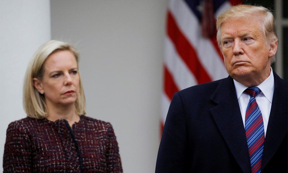 Setiausaha Keselamatan Dalam Negeri AS letakjawatan